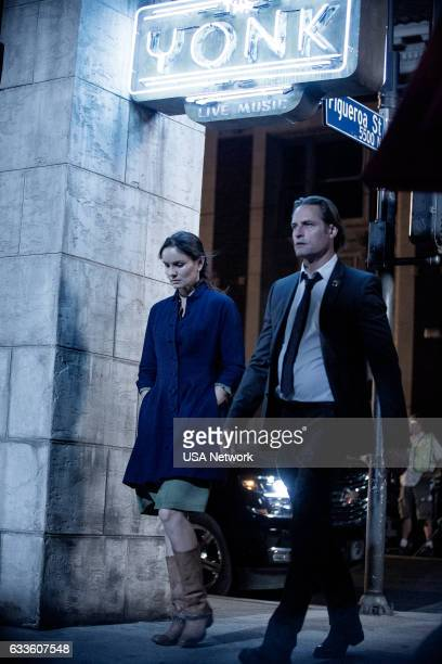 COLONY 'Fallout' Episode 206 Pictured Sarah Wayne Callies as Katie Bowman Josh Holloway as Will Bowman