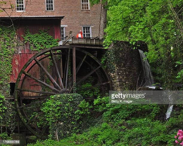 Falls Mill Operating Water- Powered Grain Mill and Museum Belvidere, Tennessee Nestled in a lush green cove along the banks of beautiful Factory...