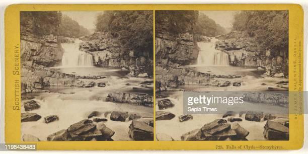 Falls of Clyde Stonybyres James Valentine 1870s Albumen silver print