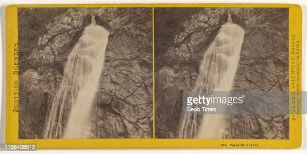Falls of Foyers James Valentine 1870s Albumen silver print