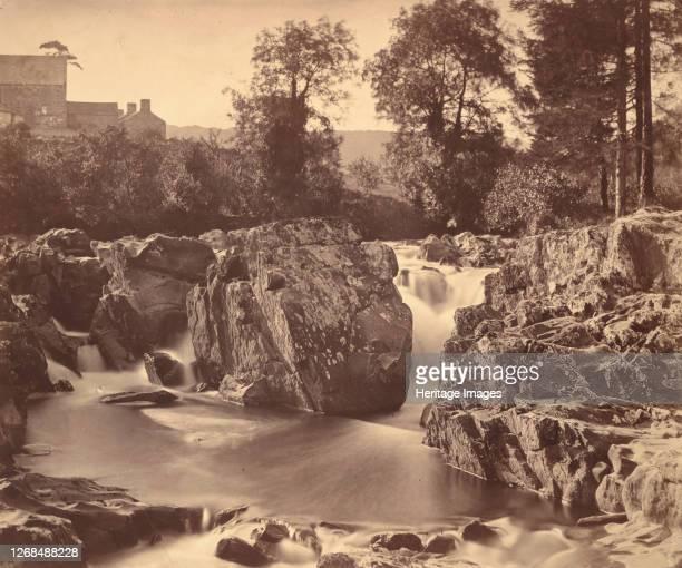 Falls of the Llugwy at PontyPair 1857 Artist Roger Fenton
