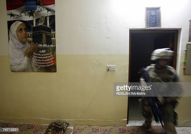 60 Top Marines Continue To Search Houses For Insurgents In