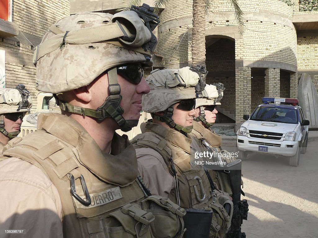 Marines From Kilo Company 3rd Battalion 5th Marines Regiment At A