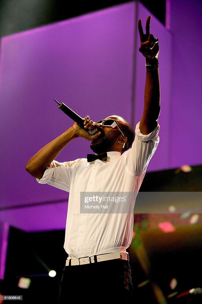 Show: MTV Africa Music Awards With Zain 2009 : News Photo