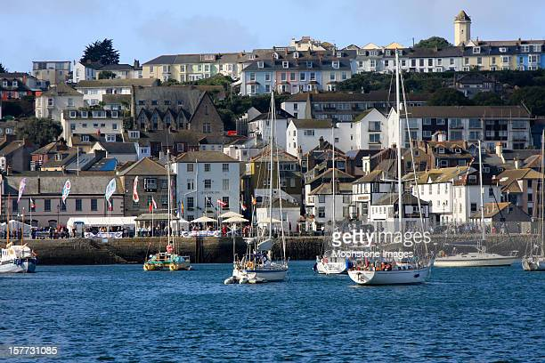 falmouth in cornwall, england - falmouth england stock pictures, royalty-free photos & images