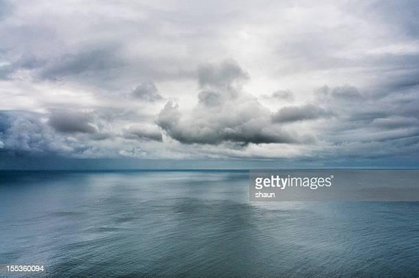 false bay meerlandschaft - meerlandschaft stock-fotos und bilder