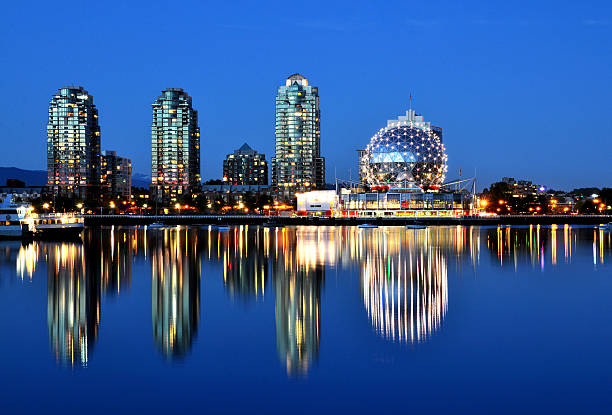False Creek - blue hour