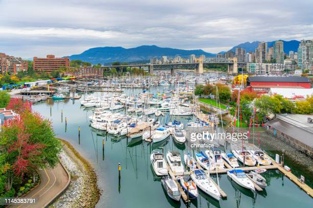 false creek in vancouver - vancouver canada stock pictures, royalty-free photos & images