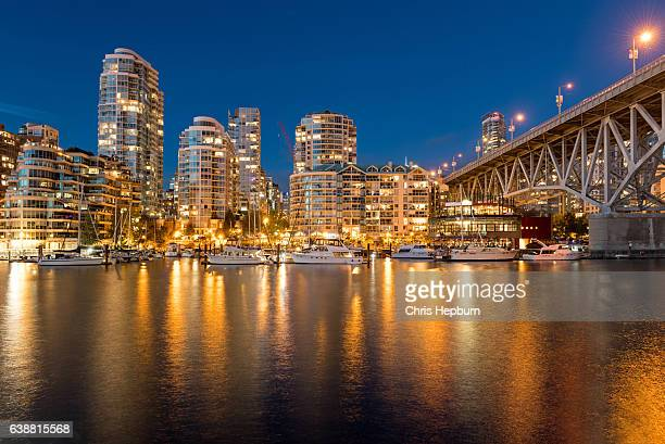 false creek, vancouver, canada - vancouver canada stock photos and pictures