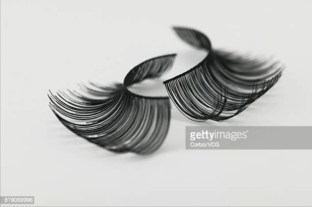false eyelashes - false eyelash stock pictures, royalty-free photos & images