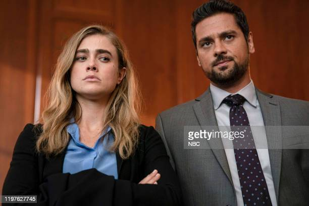 MANIFEST False Horizon Episode 203 Pictured Melissa Roxburgh as Michaela Stone JR Ramirez as Jared Vasquez