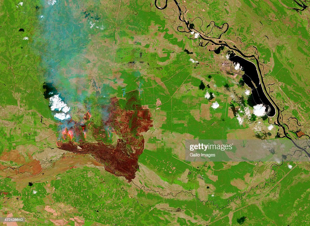 A false-colour satellite view of a forest fire in the ... on aerial view of chernobyl, city of chernobyl, topo map of chernobyl, satellite view of chernobyl, world map of chernobyl, physical map of chernobyl,