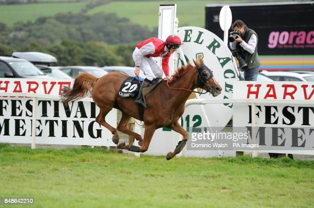 Faltering Fullback ridden by Danny Mullins wins the Guinness Kerry National Handicap Chase at Listowel Racecourse