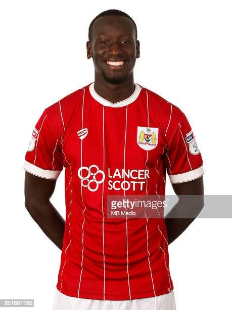 Famara Diedhiou of Bristol City Mandatory byline Matt McNulty/JMP FOOTBALL Ashton Gate Bristol England Bristol City Headshots
