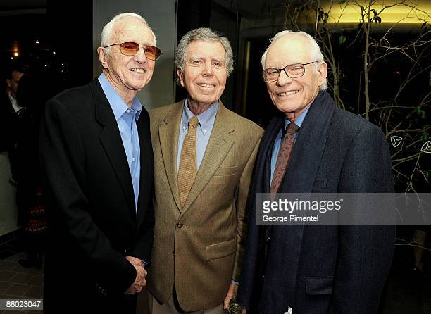 Famed cinematographer Haskell Wexler Jeffrey Hayden and Alan Bergman attend A Tribute to Norman Jewison presented by CFC and Film Independent at...