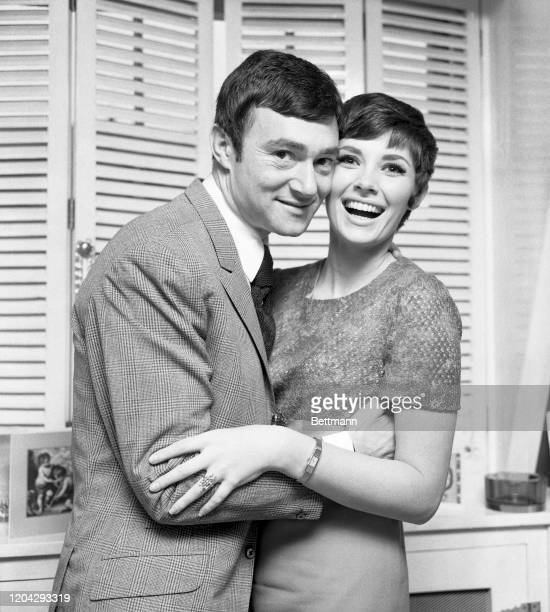 Famed hairstylist Vidal Sassoon and Beverly Adams met in London when she went to his Bond Street salon to have her hair done They will wed in March