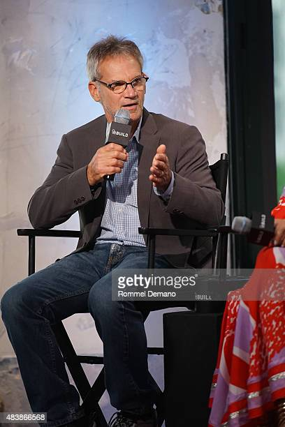Famed Writer and mountaineer Jon Krakauer attends AOL BUILD Presents MERU at AOL Studios In New York on August 13 2015 in New York City