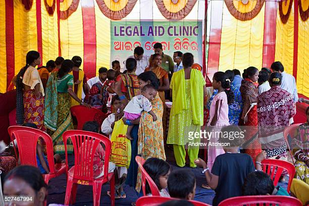 Families from Cuttack get legal advice and birth certificates from a Legal Aid Clinic run by the organisation CLAP Committee for Legal Aid to Poor...