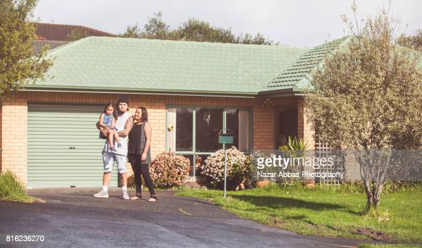 families from new zealand - housing development stock pictures, royalty-free photos & images