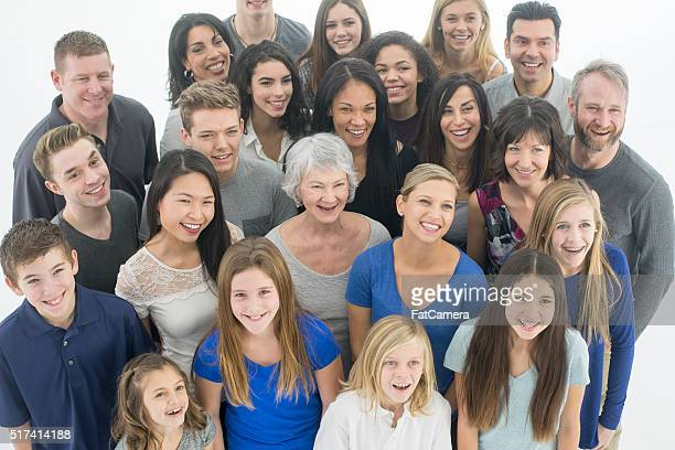Families Laughing Together