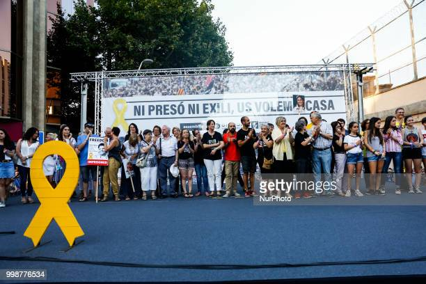 Families of political prisoners and exileds during the demonstration of Independence political parties and independence assosiations against the...