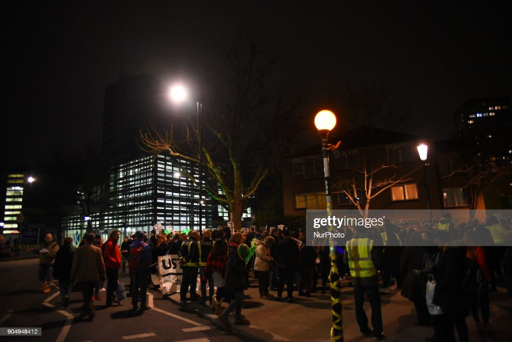 Families of the victims and survivors gathered and marched in silence to commemorate the victims of the Grenfell Tower fire which killed 71 people, London on January 14, 2018. After the fire, only the skeleton of the 24-storey Grenfell Tower block remained. Survivors demanded answers over the west London apartment block blaze that killed at least 70 people.