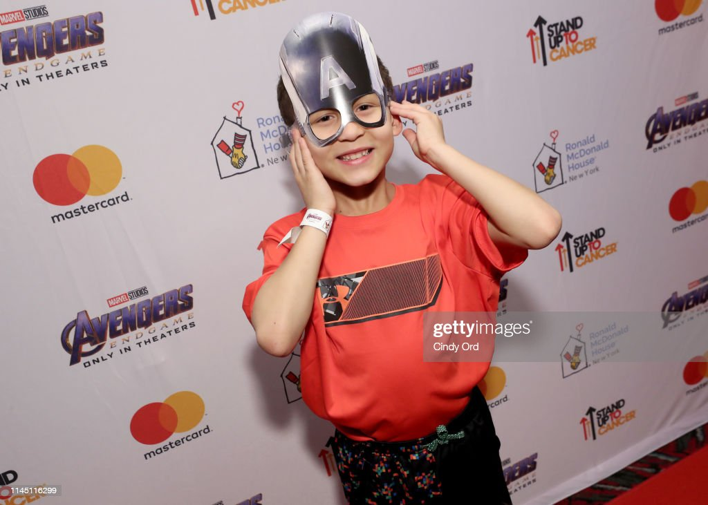 "NY: Marvel Studios, Ronald McDonald House, Stand Up To Cancer And Mastercard Host A Screening Of Marvel Studios' ""Avengers: Endgame"" For The Families Of Ronald McDonald House NYC"