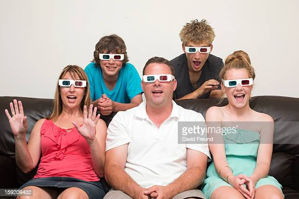 Family 3D Television
