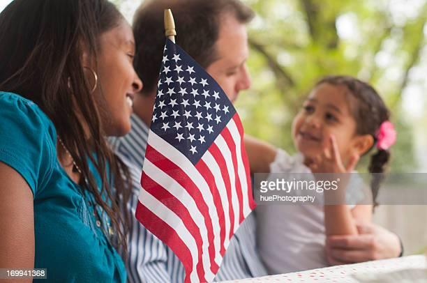 Family 4th of July Celebration