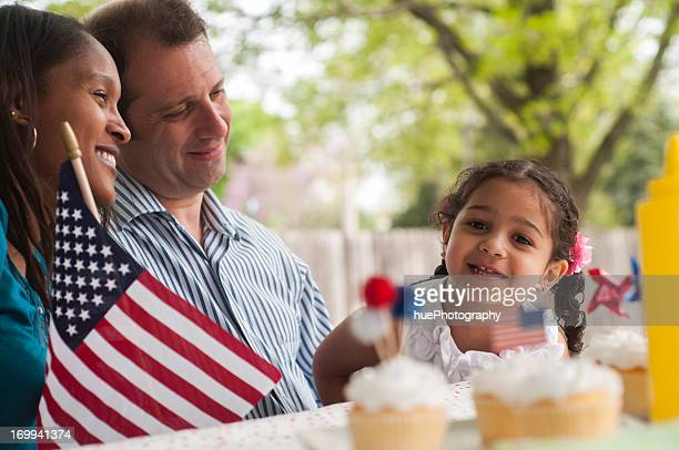 Family 4th of July Picnic