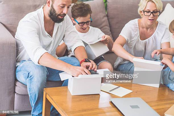 Family and a breadboard