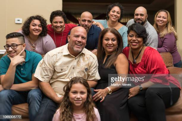 family and friends celebrating with music - puerto rican ethnicity stock pictures, royalty-free photos & images