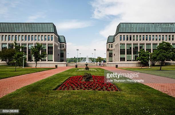 Family and friends of Navy Plebes Midshipmen and Graduates enjoy the day walking around the manicured lawns and grounds at the United States Naval...