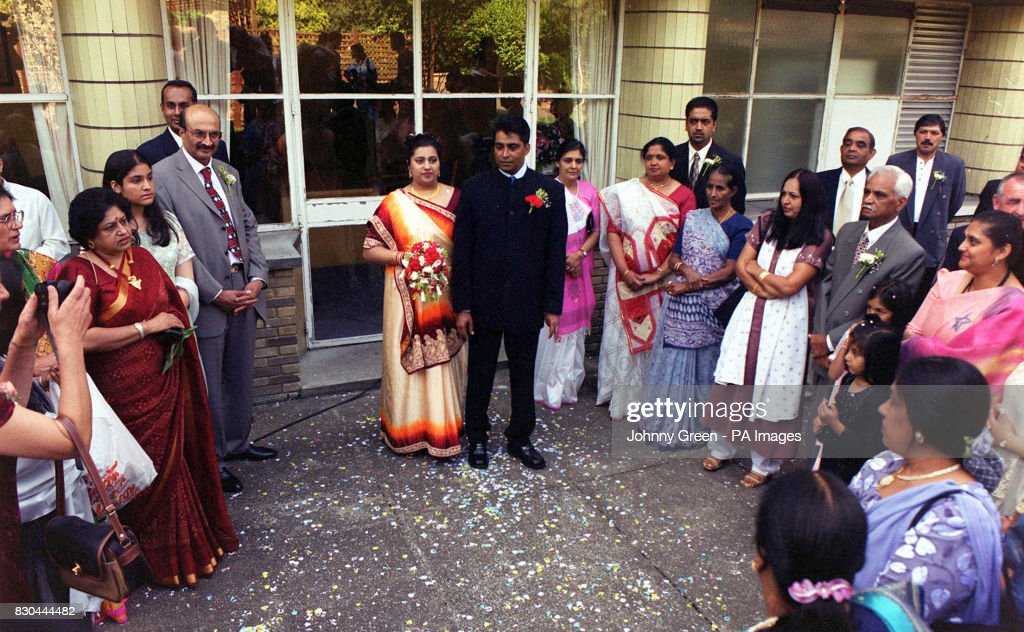 Family And Friends Of Ravi Ram 38 With His 24 Year Old Wife