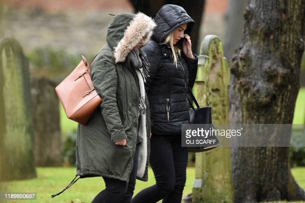 Family and friends of the victim of the terror attack in Fishmongers' Hall on London Bridge University of Cambridge graduate Saskia Jones arrive for...