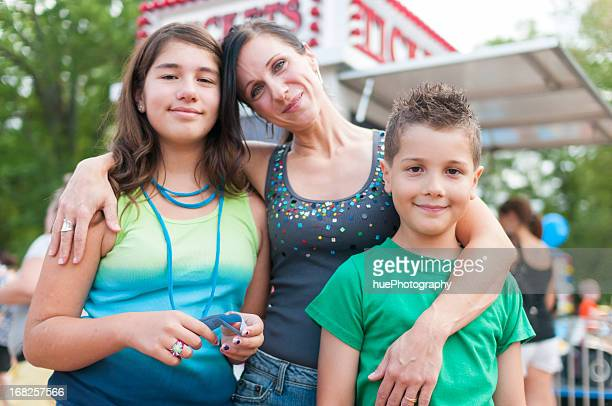 Family at a Festival