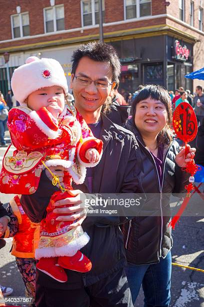 Family at Chinese New Year