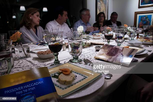 Family at the Passover table
