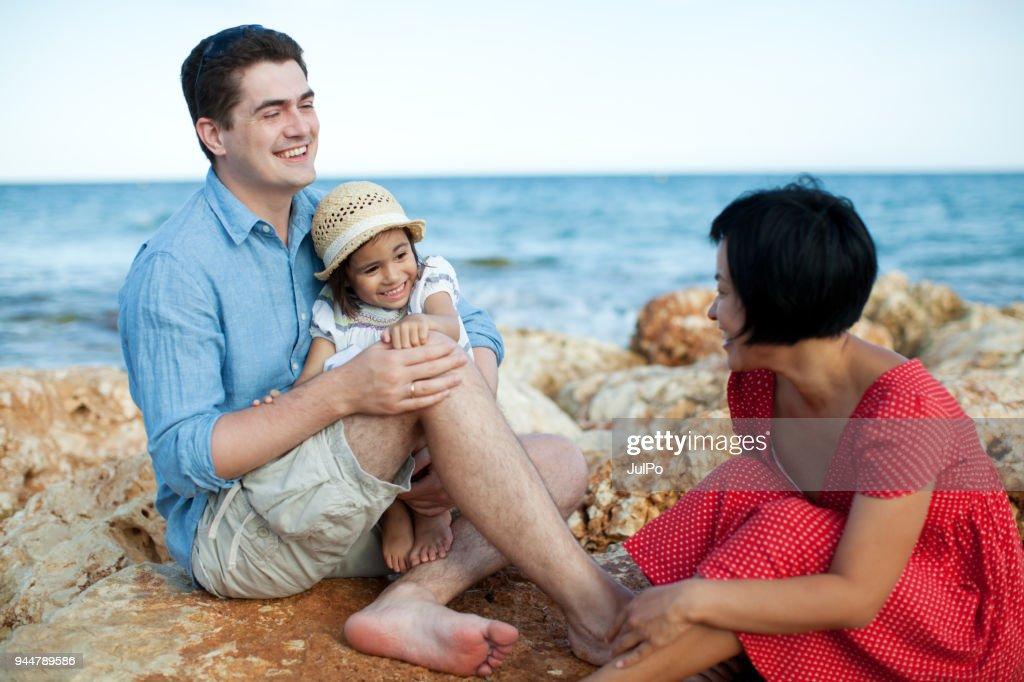 Family at vacation : Stock Photo