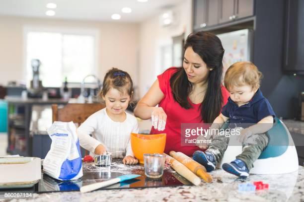 Family Baking Day!