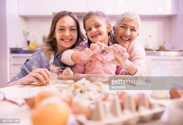 Family baking team!