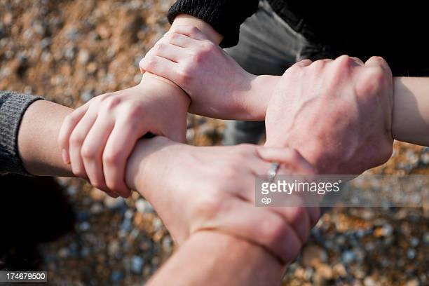 Family Bond Handshake
