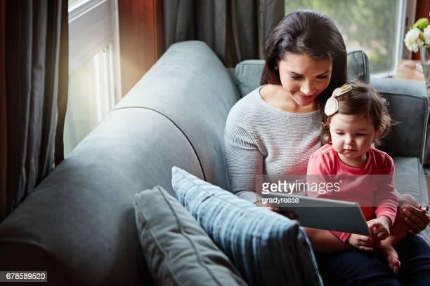 Family bonding and browsing all in one
