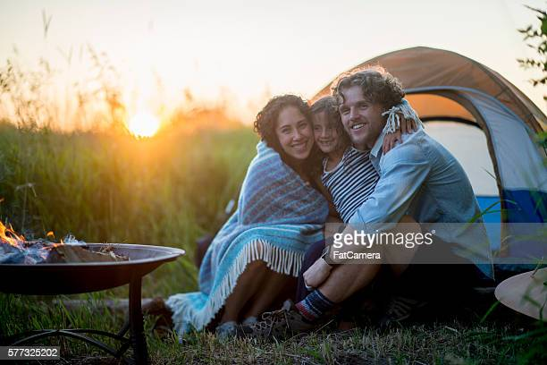 Family Bonding on a Camping Trip