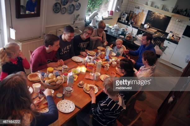Familien-brunch