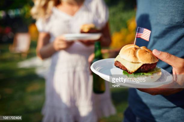 family celebrating 4th of july - july stock pictures, royalty-free photos & images
