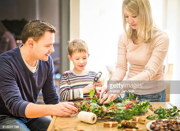 Family Weihnachten