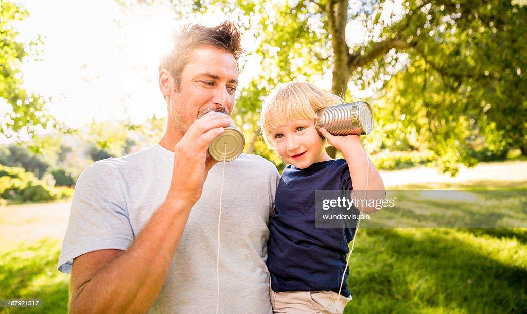 Family communication concept : Stock Photo