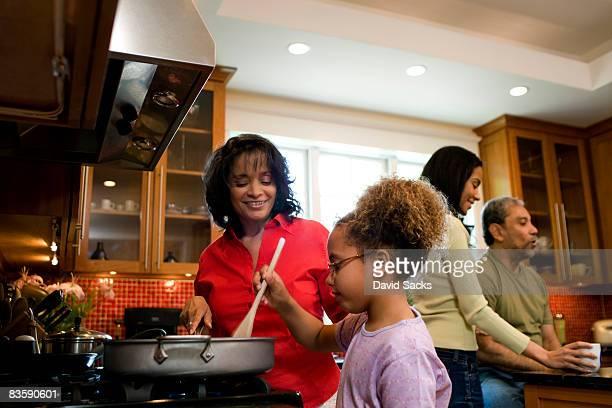 ご家族ご一緒の料理
