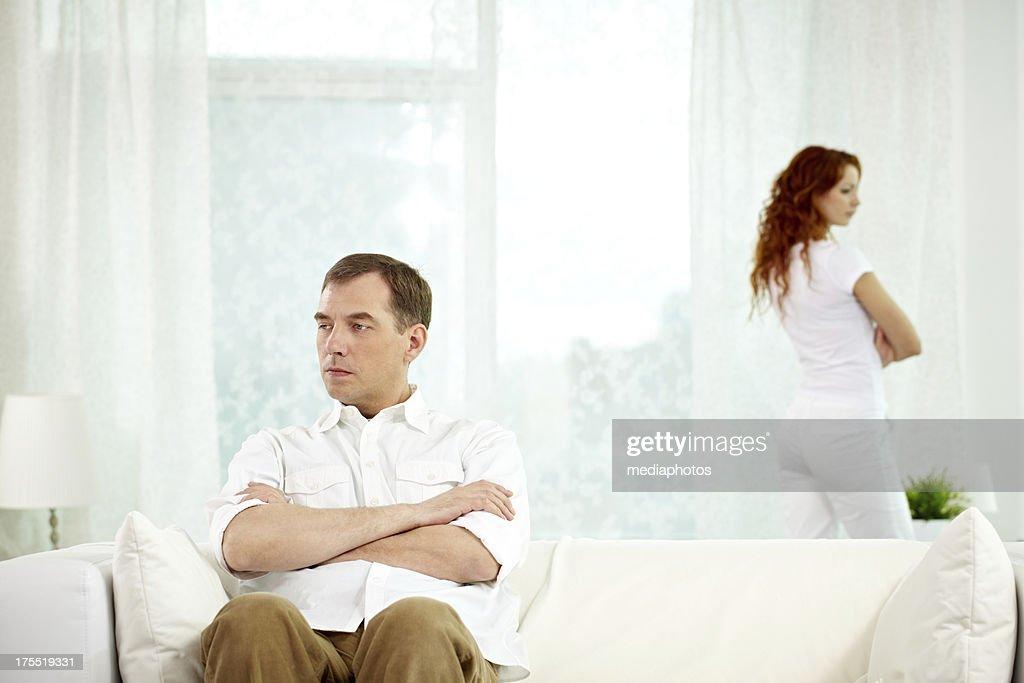 Family crisis : Stock Photo